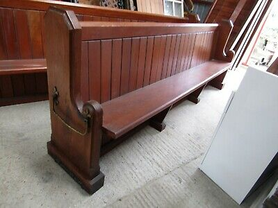 Church Pew. Ad Description Has Changed.only 2 Left Now !