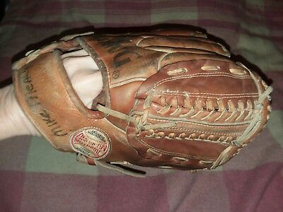 Spalding Rich Helmer American National 42-3255 Baseball Glove Mitt Leather