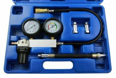 US PRO Cylinder Leak Down Tester Leakage Detector Set For Petrol Engines 5256