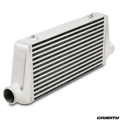 "2.5"" 63mm ALUMINIUM ALLOY 450x225x65mm DIY TURBO FRONT MOUNT INTERCOOLER FMIC"