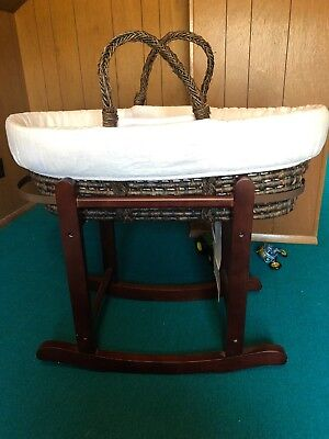 restoration hardware baby Moses Basket