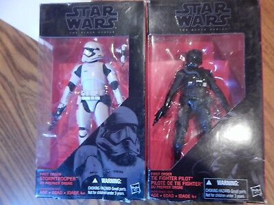 Disney Star Wars Black Series Stormtrooper and Tie Fighter New in Box