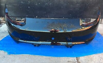 2012-2013-2014-2015 PORSCHE 911 - Carrera REAR BUMPER COVER USED, OEM