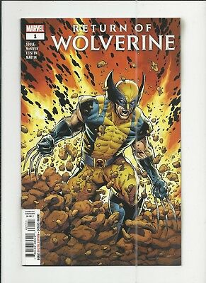 Return of Wolverine #1 very fine+ (VF+) condition