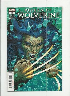 Return of Wolverine #2 near mint- (NM-) condition
