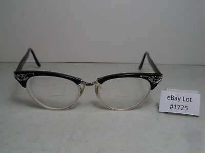 (Lot #1725) Vintage Ladies Cat Eye UOC 12K GF Eyeglasses Nice