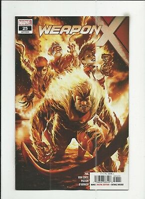 Weapon X #25 very fine/near mint (VF/NM) condition