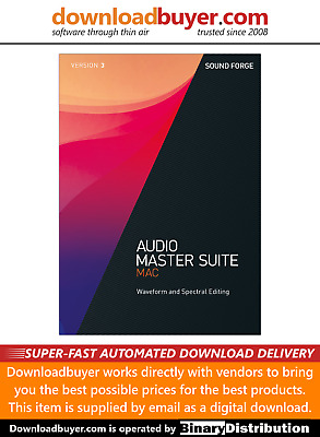 MAGIX Audio Master Suite Mac 3 - (Approved Digital Download)