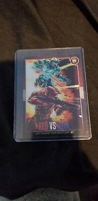 Double Gold Card #3 Red Vs Blue