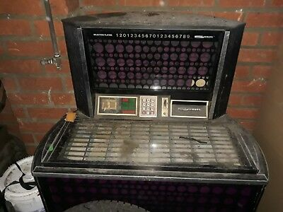 Seeburg Jukebox Olympian SPS160 1972