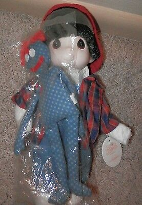 Precious Moments Max and Friend #1309 NEW 1999 soft/plastic toy doll collectible