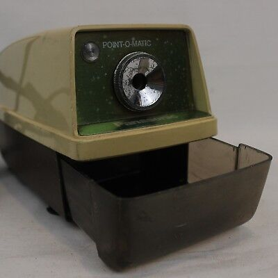 Panasonic Point-O-Matic Electric Pencil Sharpener Tested Model KP-33A