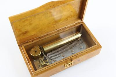LUXURY SWISS MUSIC BOX by REUGE plays 4 STRAUSS AIRS   hear it NOW!   CH4/50