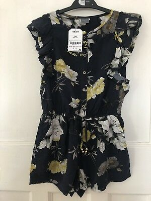 Brand New With Tags!! Girls Next Navy Playsuit. Age 5. RRP £15