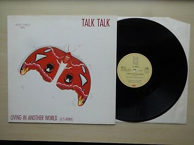 "Talk Talk - Living In Another World (U.S. Remix) 12"", 45 RPM, Maxi-Single EMI"