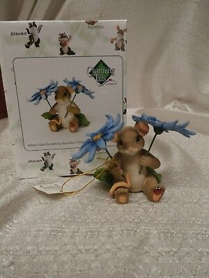 Charming Tails WHEN I SEE SOMETHING BEAUTIFUL I THINK OF YOU mouse 4035615