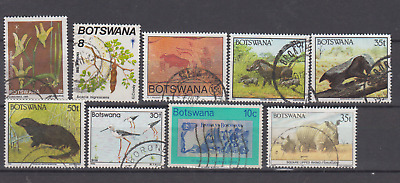 Botswana Used All Different Selection