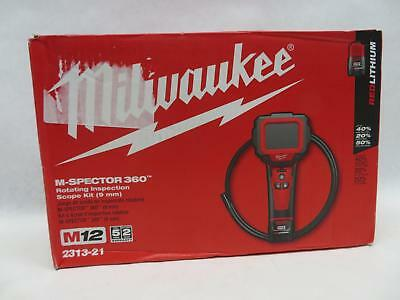 Milwaukee 2313-21 M12 12V M-Spector 360 Inspection Camera 3 Foot Kit
