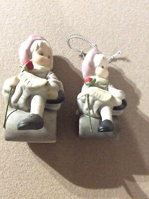Pretty As A Picture By Kim Anderson Figurine And Christmas Tree Ornament 1998