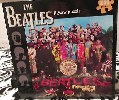 The Beatles Sgt. Pepper 1000 piece jigsaw- unopened!