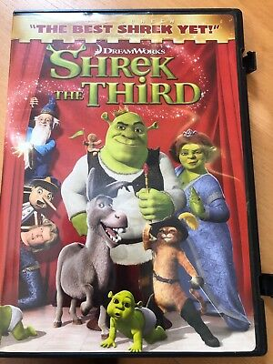 Shrek the Third (DVD, 2007, Full Screen Version - Checkpoint)