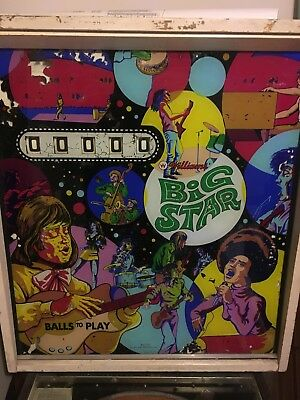 Williams BIG STAR PINBALL MACHINE