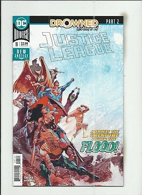 Justice League #11 (2018) near mint- (NM-) condition