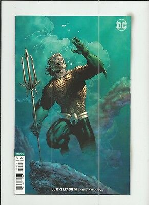 Justice League #10 (2018) Jim Lee Variant Cover very fine+ (VF+) condition