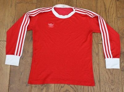 VINTAGE BAYERN MUNICH ADIDAS HOME FOOTBALL SHIRT 1975-66  Small