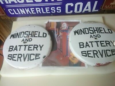 WINDSHIELD and BATTERY SERVICE porcelain globe for ECO ISLANDER 242 air tower
