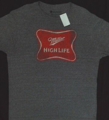 832089af6c7 Miller High Life Weathered Logo T Shirt  Size XL  New with tags  Licensed