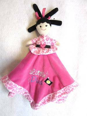 REVERSIBLE Little Diva Doll Purse Shop Pink Security Blanket Baby Essentials