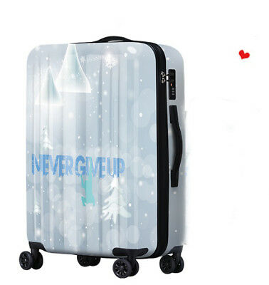 D643 Fashion Sports Style Universal Wheel Travel Suitcase Luggage 28 Inches W