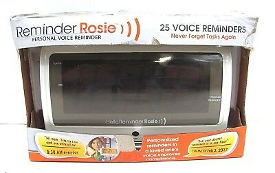 LifeAssist Reminder Rosie - Personal voice Alarm Clock Remainder (58060)