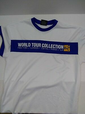 East To West Jersey T-shirt Men's Large World Tour Collection