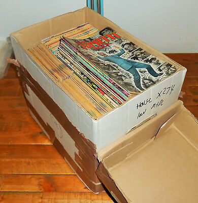 274x Huge VINTAGE 1980s MARVEL & DC COMICS lot - House Clearance - Will Post