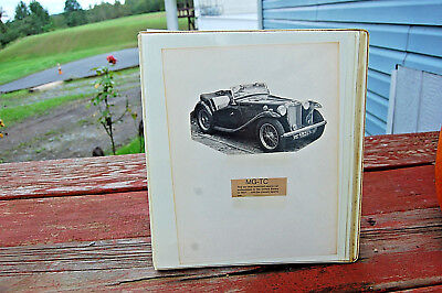 Vintage Note Book Of All Things Mg-Tc Articles From 50's Thru 70's And More