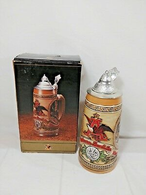 "Anheuser Busch ""a Series"" Tomorrows Treasures Stein - Limited Edition - # 77080"