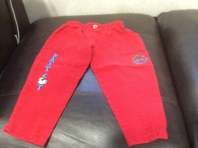 Vintage Buster Brown Boys 2T Fast Cat Pants