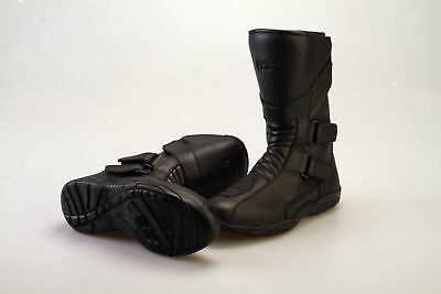 Bolt R45 Boots Leather Touring Motorcycle Motorbike Bike Boots