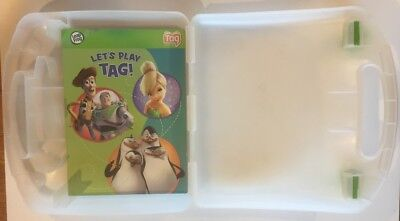 Leap Frog TAG Reader Plastic CARRYING & STORAGE CASE w/Let's Play Tag book