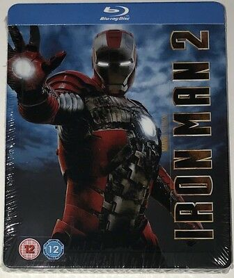 IRONMAN 2 | Blu-ray | SteelbooK | PLAY.COM | Brand New | Extremely Rare Marvel