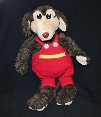 Shirls Neighbourhood Norm The Kangaroo Plush Extremely Rare 1980's Vintage