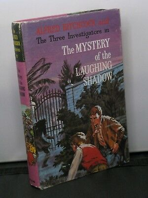 Hitchcock #12 Three Investigators in the Mystery of the Laughing Shadow HC