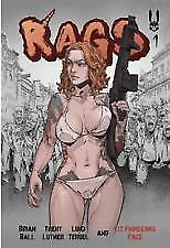 RAGS #1 Patreon Edition Self Published  Limited Presale 2018 NM Super Hot Comic