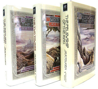 Lord of the Rings1-3 Fellowship of the Ring,Two Towers J R R Tolkien (Hardcover)