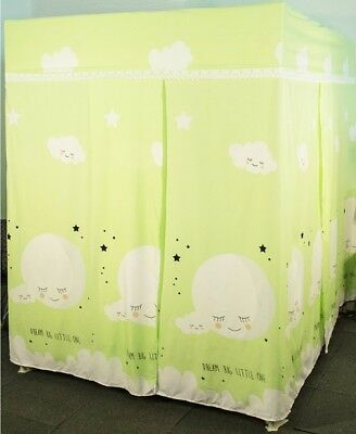 King Cartoon Floor Type Dust Prevention Bed Canopy Mosquito Net Bed Curtain#