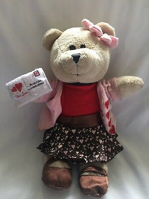 Starbucks 102nd Edition In The Bearista Bear Collection Plush Toy 2011
