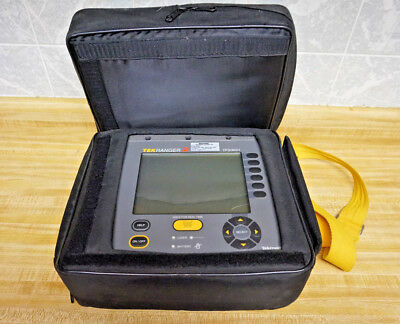 TEKTRONIX TEKRANGER 2 TFS3031 Mini-OTDR FIBER FAULT LOCATOR - Tested - good batt