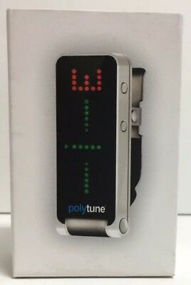 (New) TC Electronic Polytune Clip Guitar Tuner